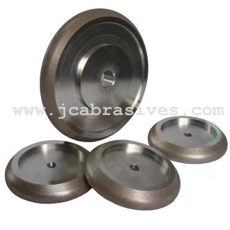 5 Inch CBN Grinding Wheel, 10/30 Angle, 3/4 Tooth Spacing - JINCHUAN ABRASIVES CO., LTD