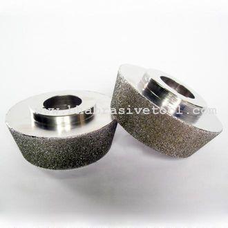 Electroplated bond diamond grinding wheel