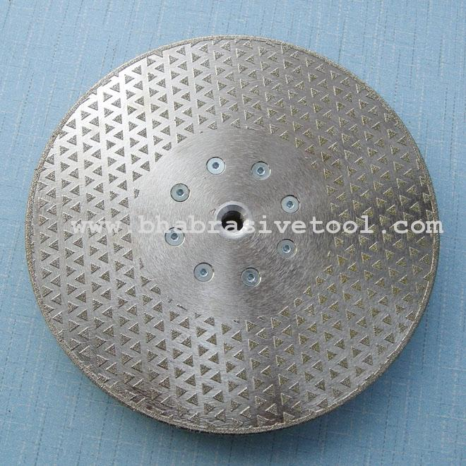 Electroplated diamond Grinding and Cutting Blades