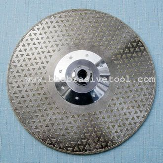 Electroplated diamond Grinding