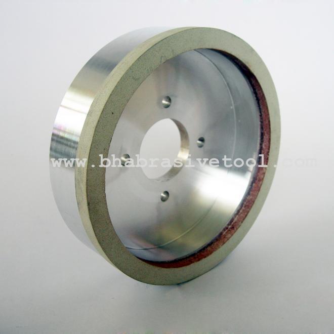 Vitrified bond diamond wheels